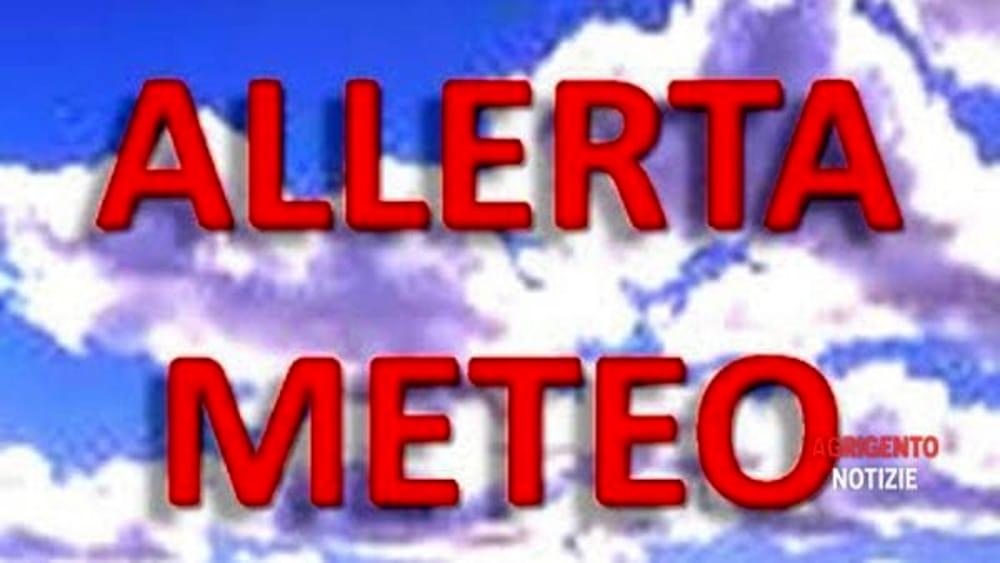 Allerta meteo anche a raffadali domani le scuole for Meteo palma di montechiaro