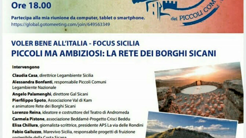 Nuovi percorsi turistici per collegare mare ed entroterra: ne discute la Rete dei borghi Sicani