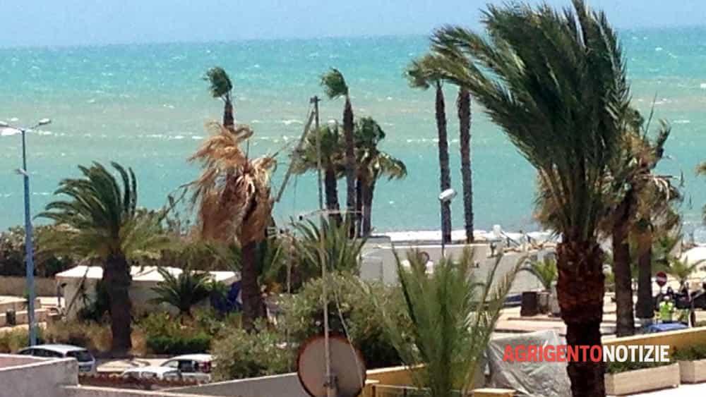 Allerta meteo nell 39 agrigentino in arrivo raffiche di for Meteo palma di montechiaro